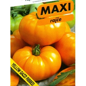 Yellow Gazzi Ribbed, série MAXI